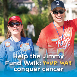 Help the Jimmy Fund Walk Your Way
