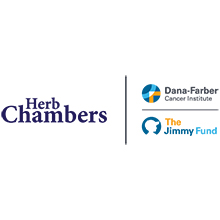 Herb Chambers, Dana-Farber, and Jimmy Fund logos