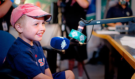 Radio-Telethon features compelling and inspirational stories from Dana-Farber patients.