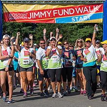 Jimmy Fund Walk corporate sponsorship opportunities