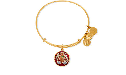 Alex and Ani gingerbread bracelet