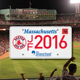 Jimmy Fund Red Sox License Plate 2016